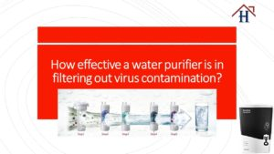 water purifier and coronavirus
