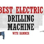 electric drilling machine with hammer