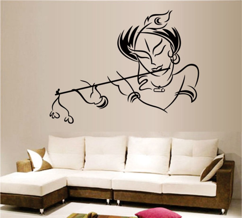 Wall Stickers Krishna