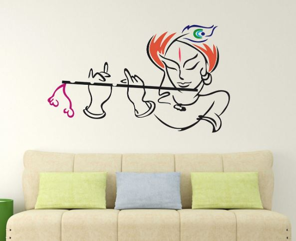Krishna Wall Sticker