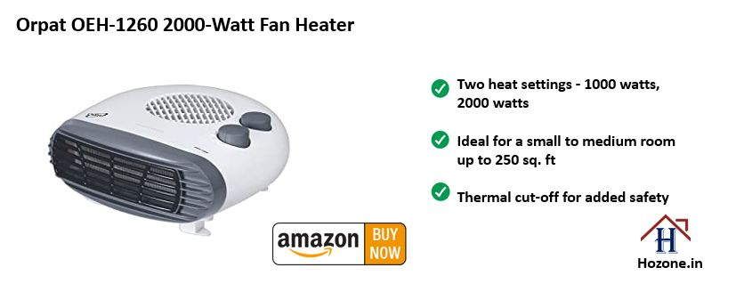 orpat room heater blower for home