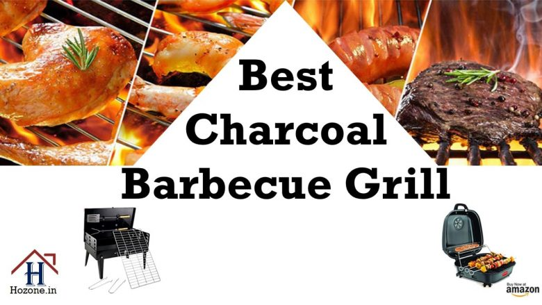 charcoal barbeque grill set