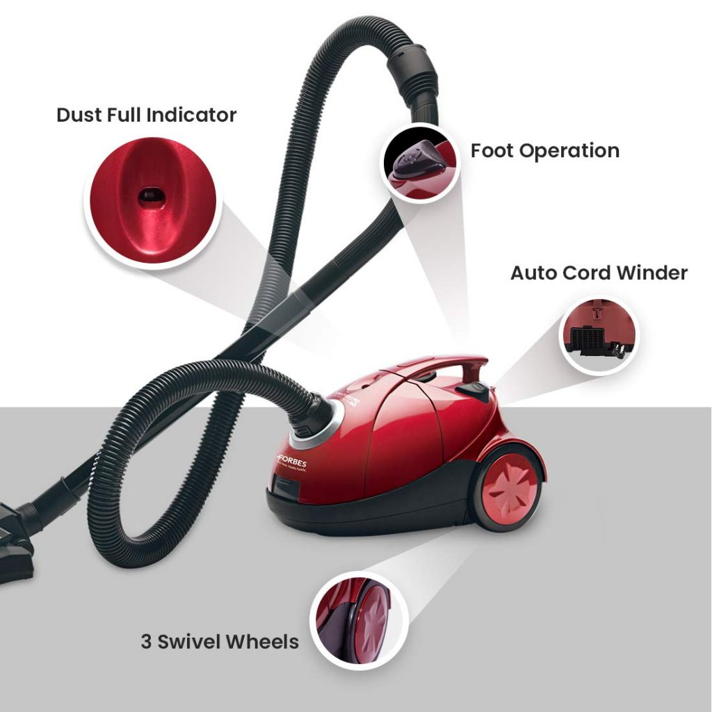 Eureka forbes dry vacuum cleaner for home