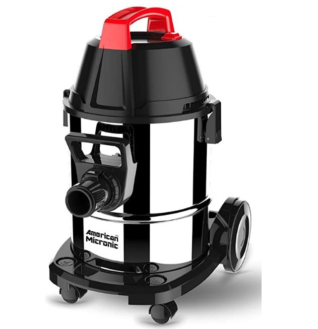 Micronic wet and dry vacuum cleaner