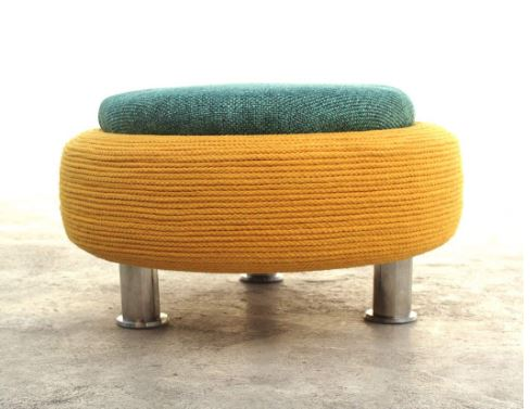 ottoman foot stool  with storage