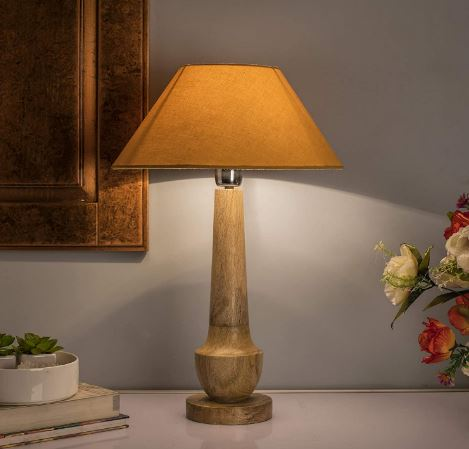 homesake wooden table lamp