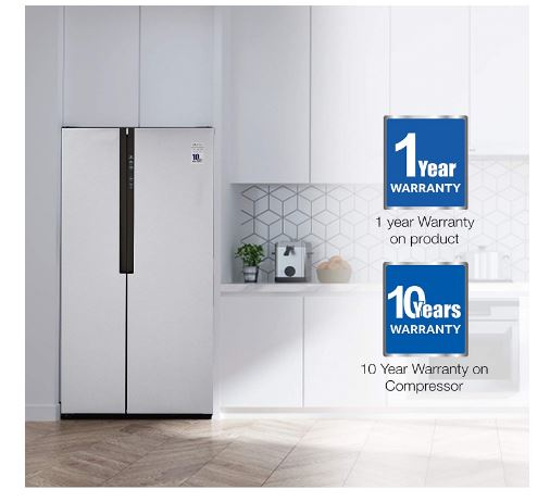 side by side refrigerator by haier